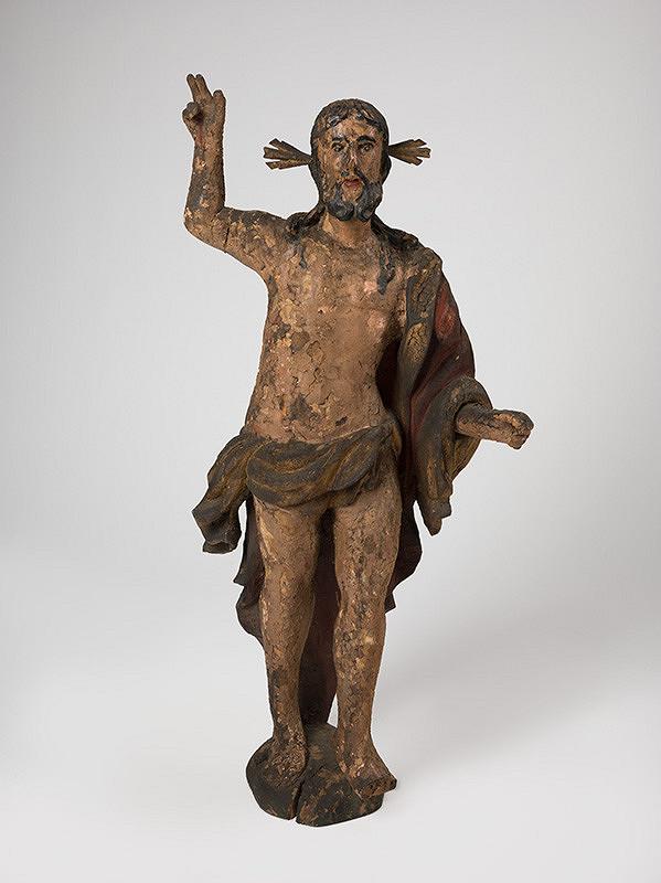 Slovenský rezbár z 18. storočia, Neznámy rezbár – Vzkriesený Kristus
