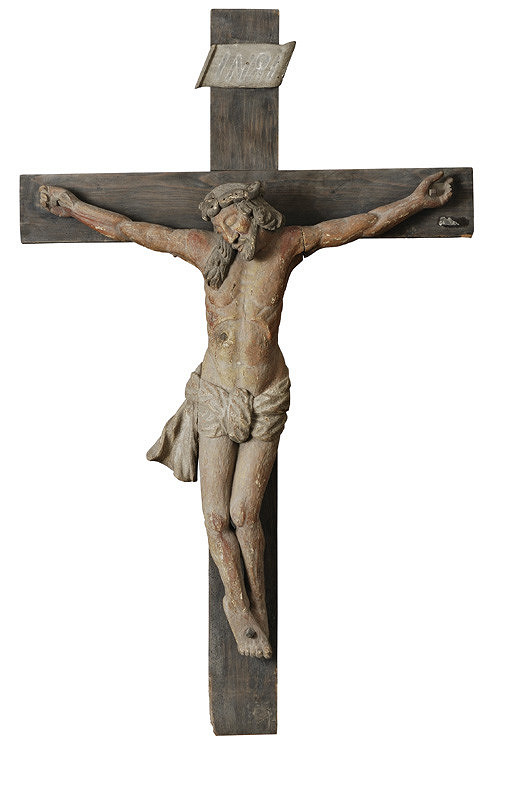 Slovenský rezbár zo 17. storočia, Neznámy rezbár – Ukrižovaný Kristus