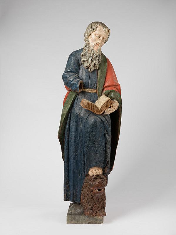 Slovenský rezbár zo začiatku 18. storočia, Neznámy rezbár – Sv.Marek Evanjelista