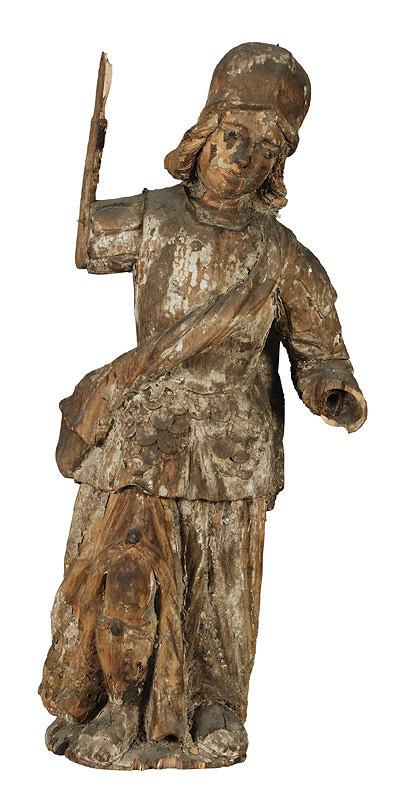 Slovenský rezbár zo 17. storočia, Neznámy rezbár - Sv.Michal Archanjel