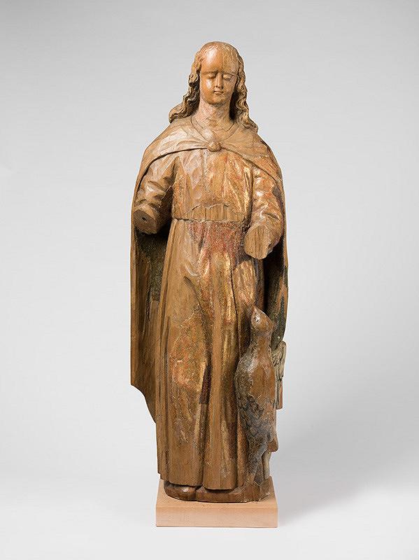 Slovenský rezbár z konca 17. storočia, Neznámy rezbár – Sv.Ján Evanjelista