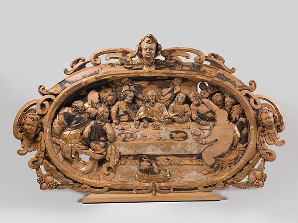Slovenský rezbár z 3. tretiny 17. storočia, Pavol Gross st. – Posledná večera
