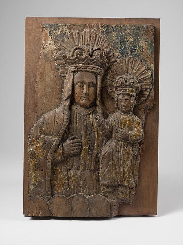 Slovenský rezbár zo 17. storočia, Neznámy rezbár – Madona s dieťaťom