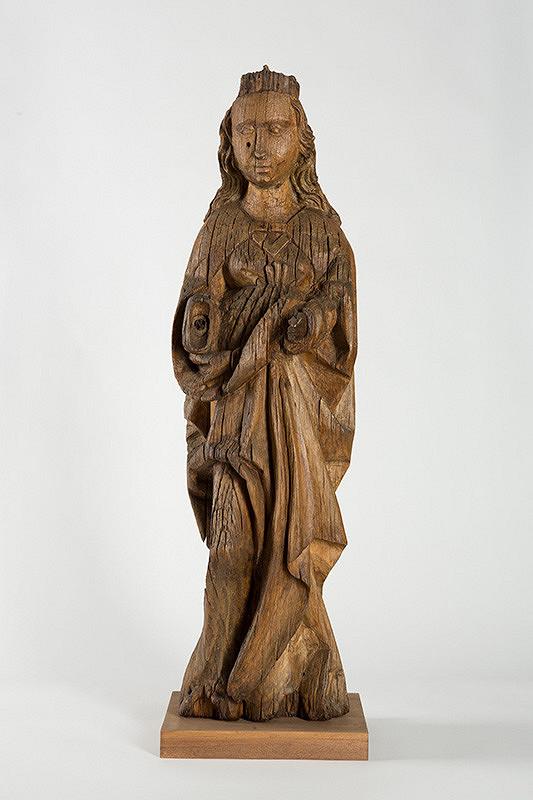 Slovenský rezbár z 1. tretiny 16. storočia - Svätica