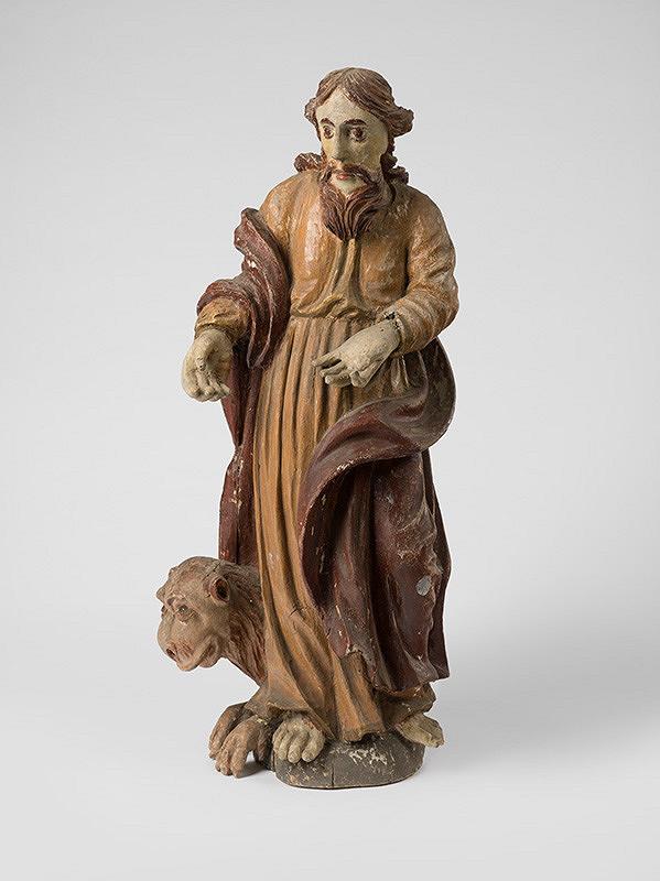 Slovenský rezbár zo 17. storočia, Neznámy rezbár – Svätý Marek Evanjelista