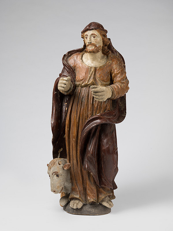 Slovenský rezbár zo 17. storočia, Neznámy rezbár - Svätý Lukáš Evanjelista