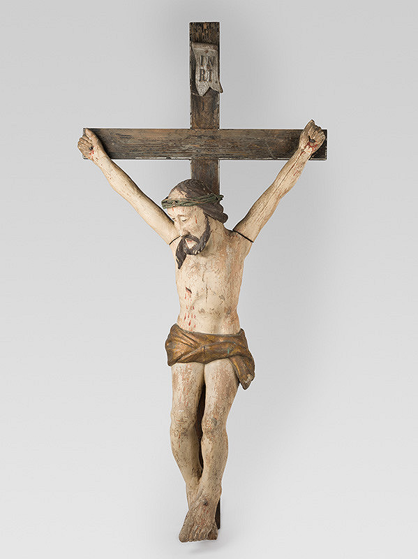 Slovenský poloľudový rezbár zo 17. - 18. storočia, Neznámy rezbár – Ukrižovaný
