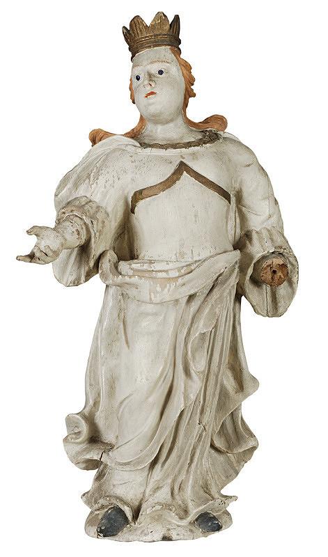 Slovenský poloľudový rezbár z 18. storočia, Neznámy rezbár - Svätica