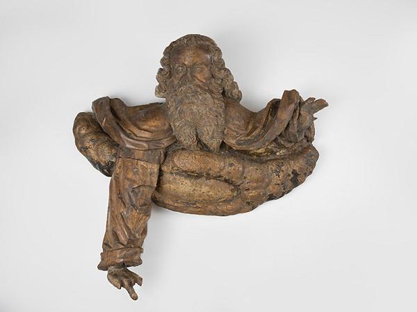 Slovenský rezbár z 2. polovice 17. storočia, Neznámy rezbár, Spišský rezbár – Boh Otec na oblaku