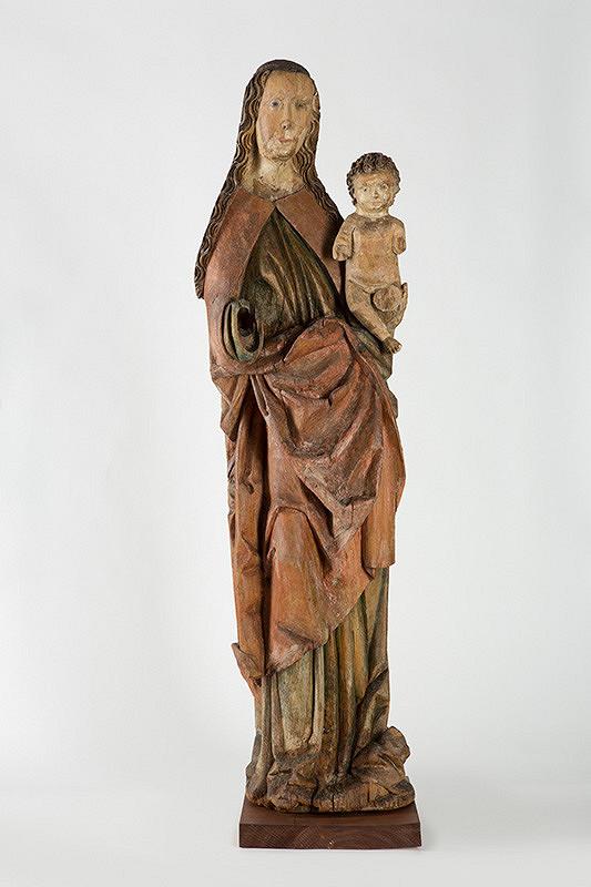 Slovenský rezbár z konca 15. storočia – Madona s dieťaťom