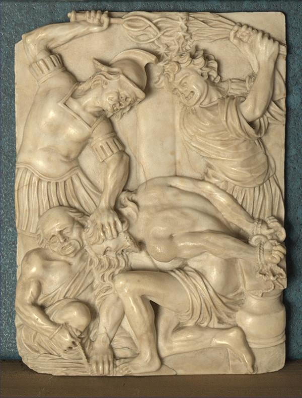 Juhonemecký sochár zo 17. storočia - Bičovanie Krista
