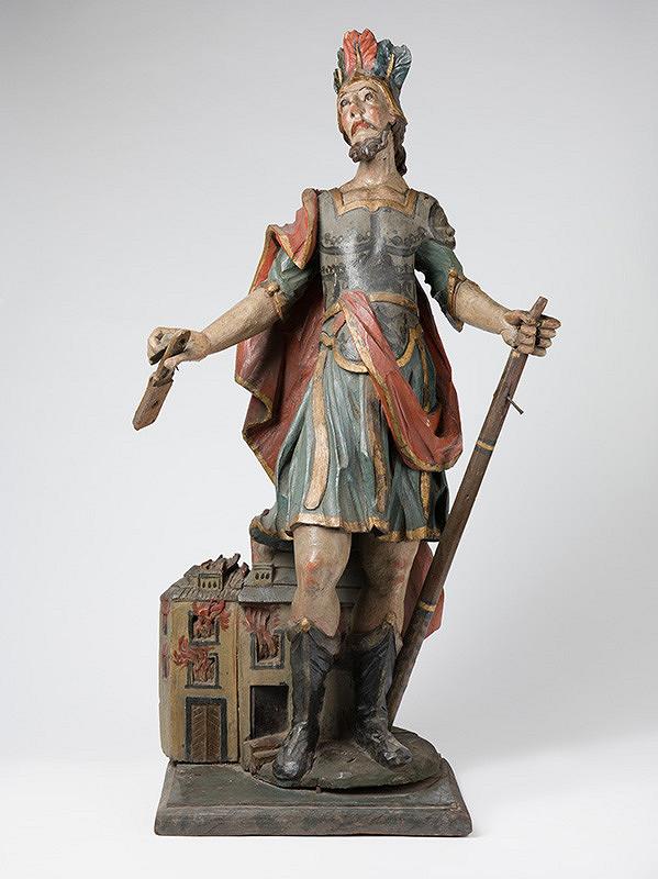 Slovenský rezbár z polovice 18. storočia, Neznámy rezbár - Svätý Florián