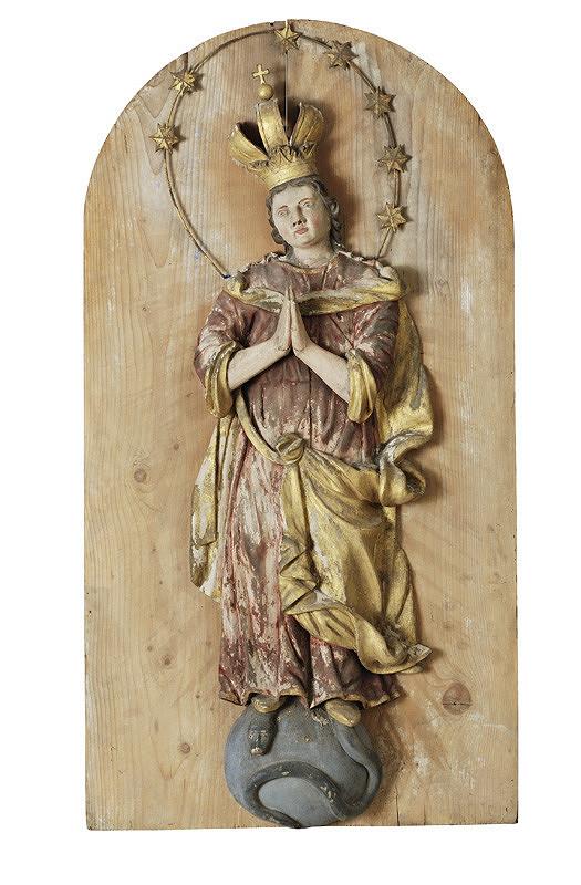 Slovenský rezbár z 18. storočia, Neznámy rezbár – Immaculata