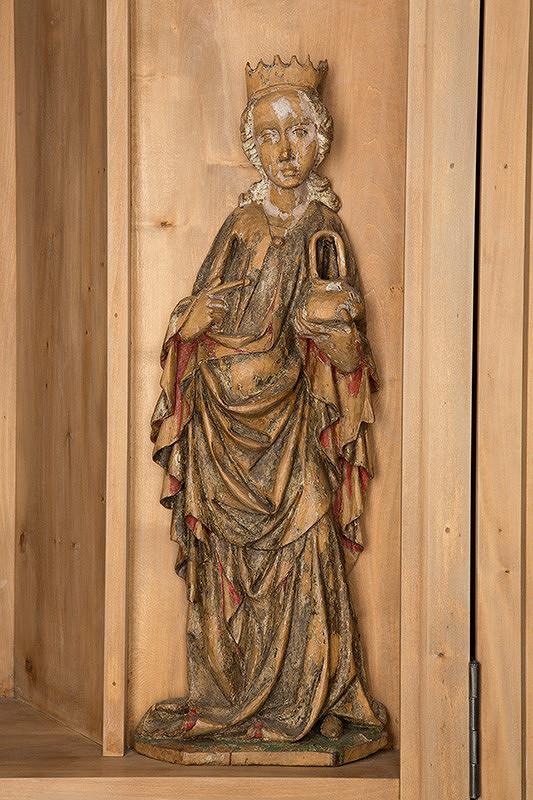 Slovenský rezbár zo začiatku 15. storočia, Majster Madony z Lomničky - Svätá Dorota-mučenica