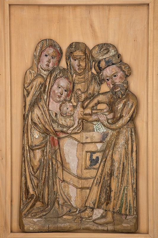 Slovenský rezbár zo začiatku 15. storočia, Majster Madony z Lomničky - Obriezka Krista