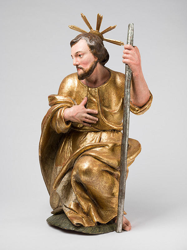 Slovenský rezbár z 1. polovice 18. storočia, Neznámy rezbár – Kľačiaci Jozef