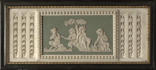 Taliansky sochár zo 17. - 18. storočia – Dekoratívny výjav s putti