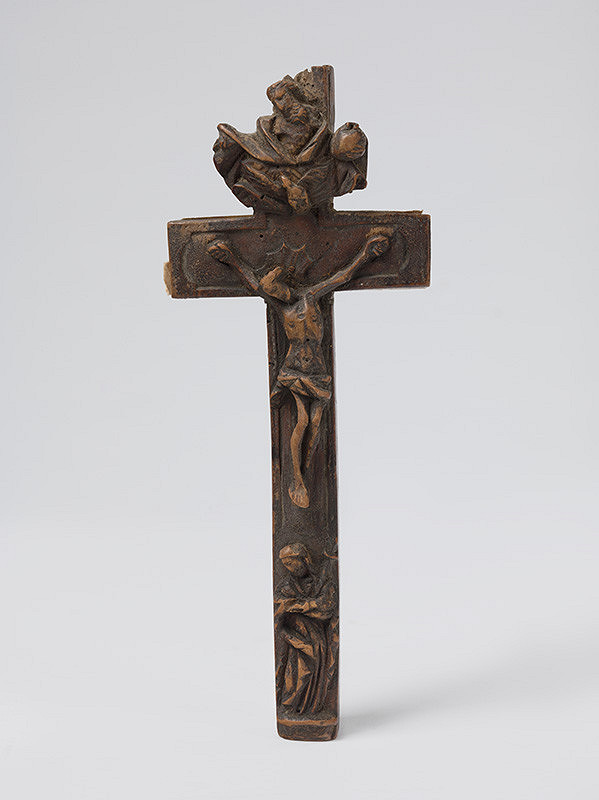 Slovenský rezbár z 18. storočia, Neznámy rezbár – Krucifix s figurálnou a ornamentálnou výzdobou