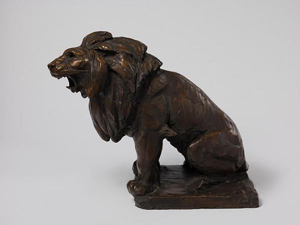 Ján Fadrusz – Štúdia leva