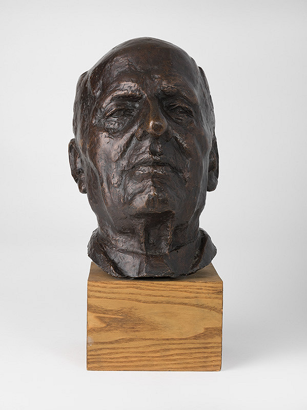 Alexander Trizuljak - Portrét Braunera
