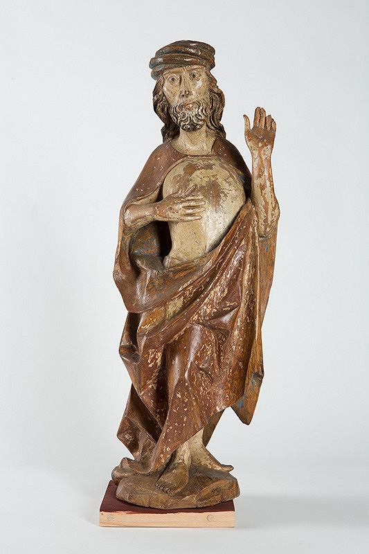 Slovenský rezbár z 15. storočia - Bolestný Kristus