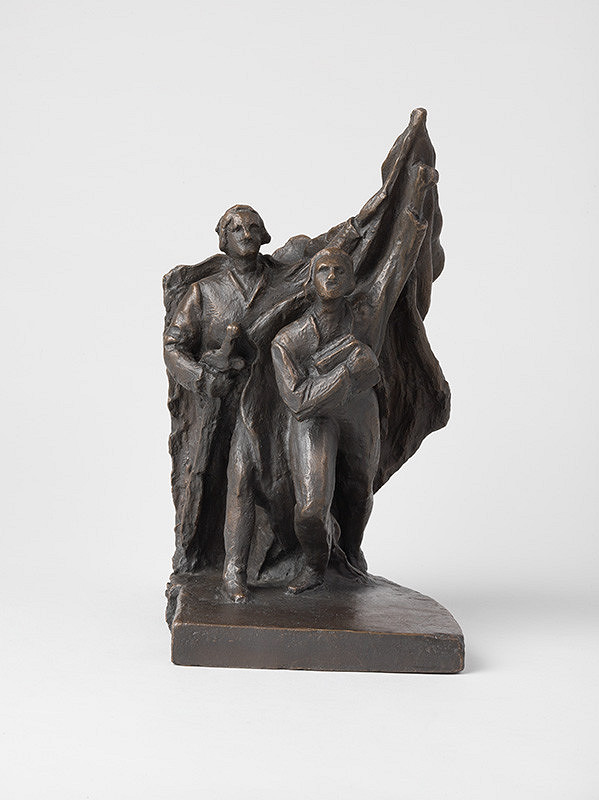 Jozef Pospíšil – Štúdia k pomníku Východoslovenského povstania 1831 IV.