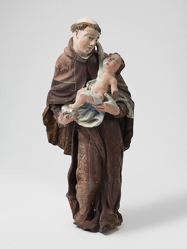 Slovenský rezbár z 18. storočia, Neznámy rezbár - Svätý Anton s Ježiškom