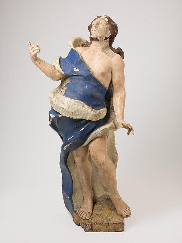 Slovenský rezbár z 18. storočia, Neznámy rezbár – Svätý Ján Krstiteľ