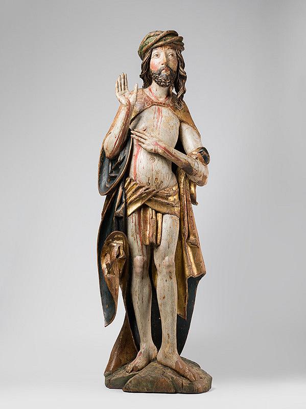 Majster Pavol z Levoče - Skulptúry z Hozelca - Bolestný Kristus