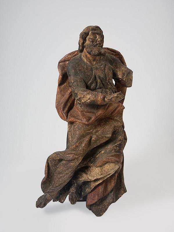 Slovenský rezbár zo 17. storočia, Neznámy rezbár - Svätec