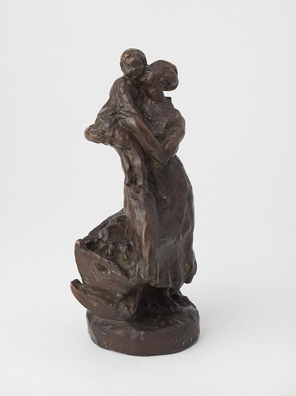 Jan Štursa - Matka s dieťaťom (Uspávanka)