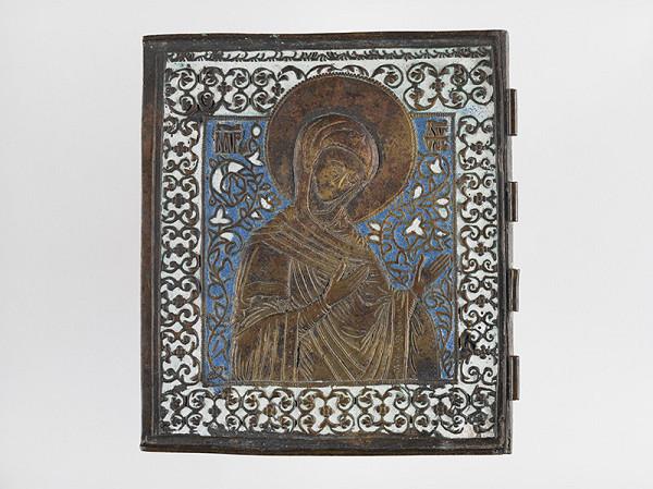 Ruský majster kovolejár z konca 17. a začiatku 18. storočia - Panna Mária