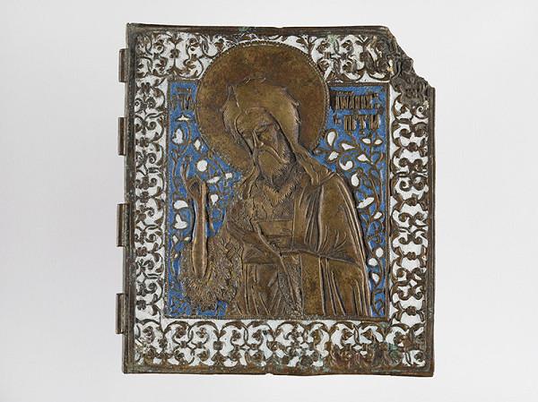 Ruský majster kovolejár z konca 17. a začiatku 18. storočia – Svätý Ján Krstiteľ