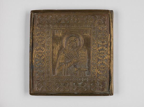 Ruský majster kovolejár z 19. storočia – Panna Mária