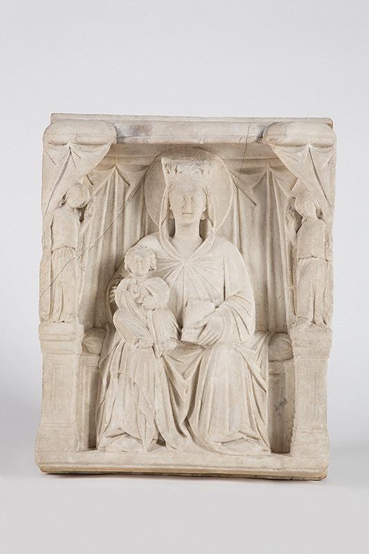 Neznámy sochár – Troniaca madona s anjelmi