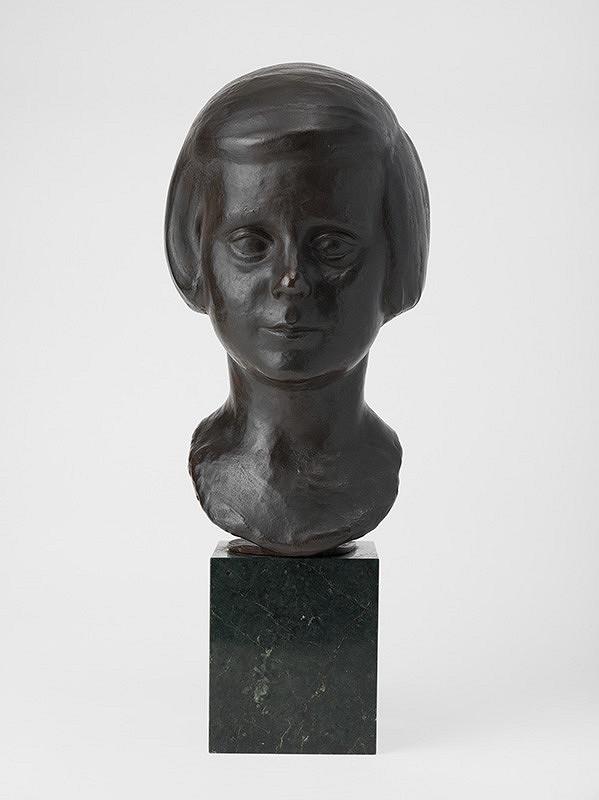 Jozef Arpád Murmann - Portrét dievčatka