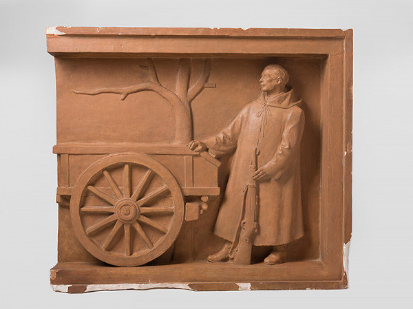Rudolf Pribiš – Definitívny model pre pomník v Prievidzi - 5. časť