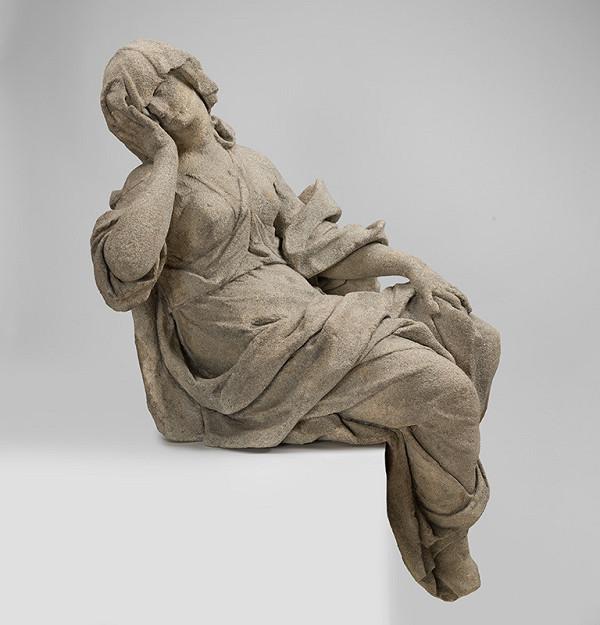Slovenský sochár z 2. polovice 18. storočia, Ľudovít Gode - Melanchólia