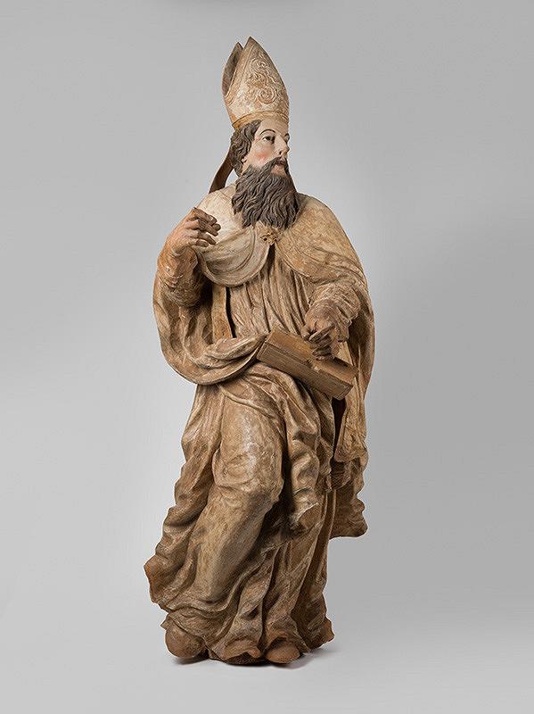 Neznámy rezbár – Sv. Augustín - biskup