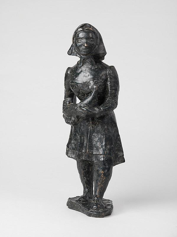 Honorio García Condoy – Žena s kohútom