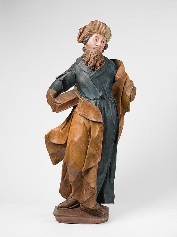 Slovenský rezbár z polovice 18. storočia, Neznámy rezbár – Svätec s knihou