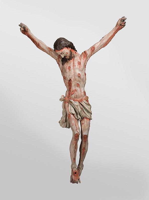 Stredoeurópsky sochár - Ukrižovaný Kristus (Morový krucifix)