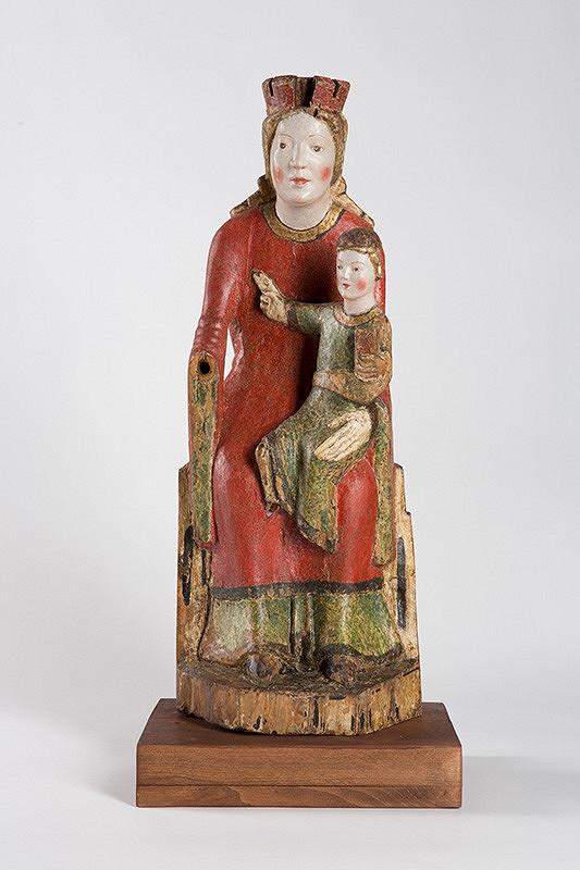 Neznámy juhonemecký sochár – Tróniaca madona - Sedes sapientiae