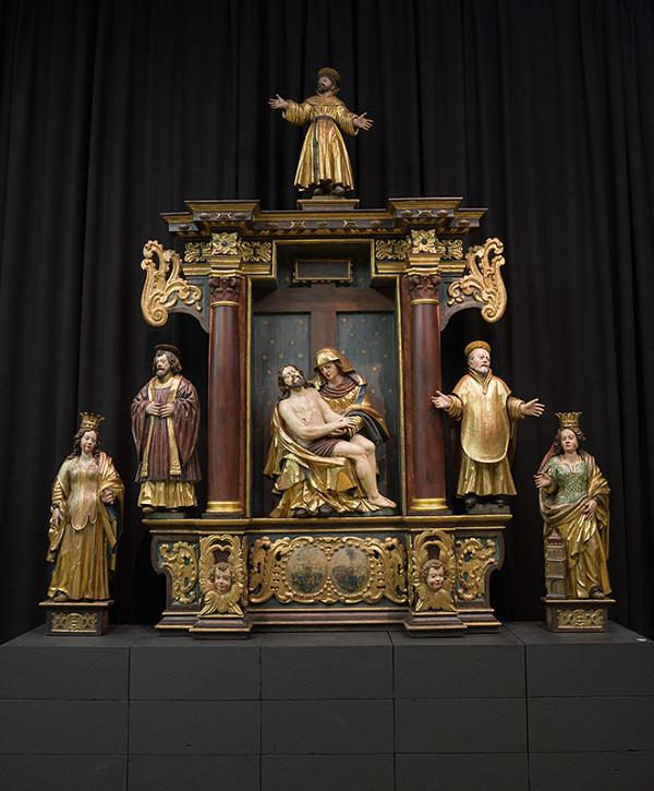 Vít Stadler – Oltár Piety - architektúra