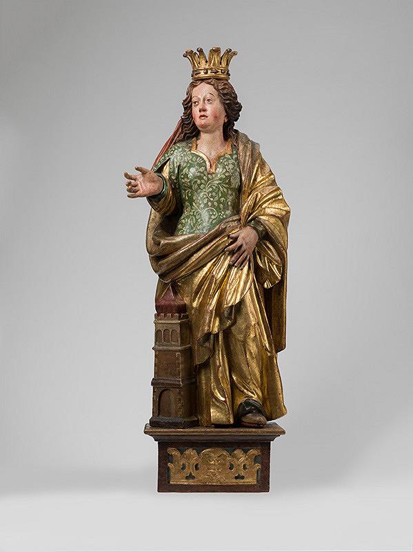 Vít Stadler – Svätá Barbora  z Oltára Piety