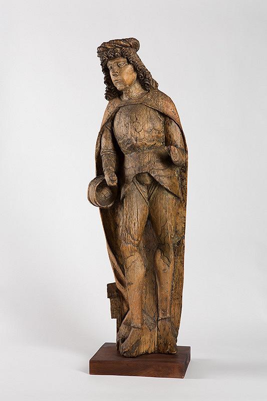 Slovenský rezbár zo začiatku 16. storočia – Svätý Florián