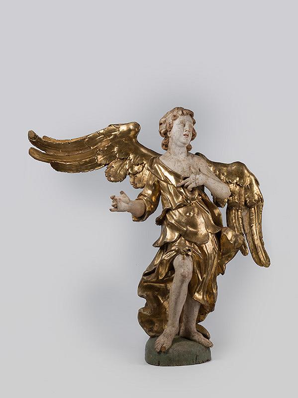 Slovenský rezbár okolo 1700, Neznámy rezbár – Anjel