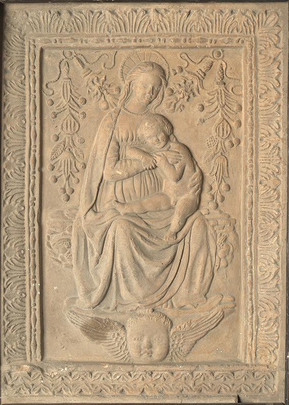 Taliansky majster zo 17. storočia – Madona s dieťaťom