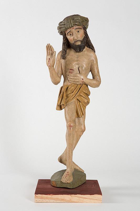 Slovenský rezbár z konca 15. storočia - Bolestný Kristus