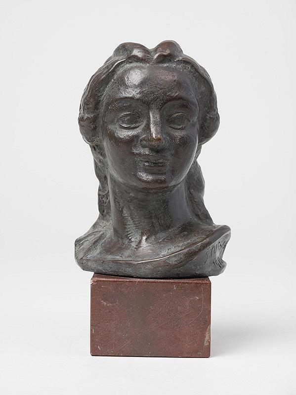 Jan Štursa - Dievčenská hlava